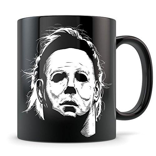 Halloween Movie Mug - Michael Myers Halloween Killer - Great Gift for Horror Movie (Michael Myers Halloween Movies In Order)