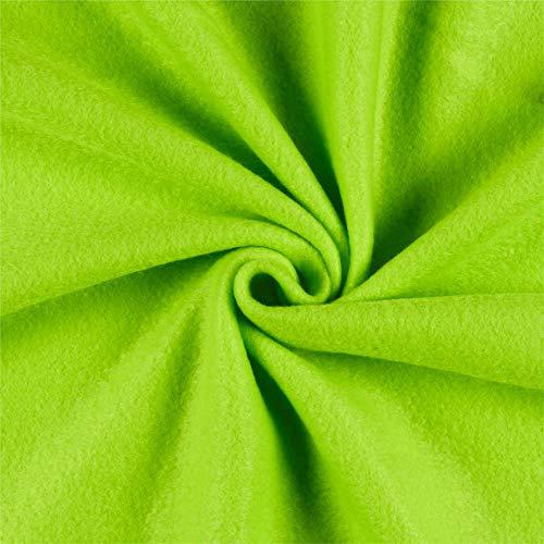 Newcastle Fabrics Polar Fleece Solid Lime Fabric By The Yard