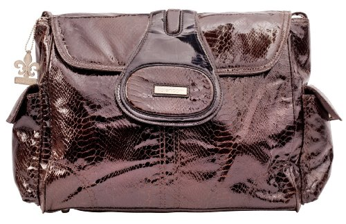 (Kalencom Diaper Bag, Elite Cosmopolitan Chocolate )