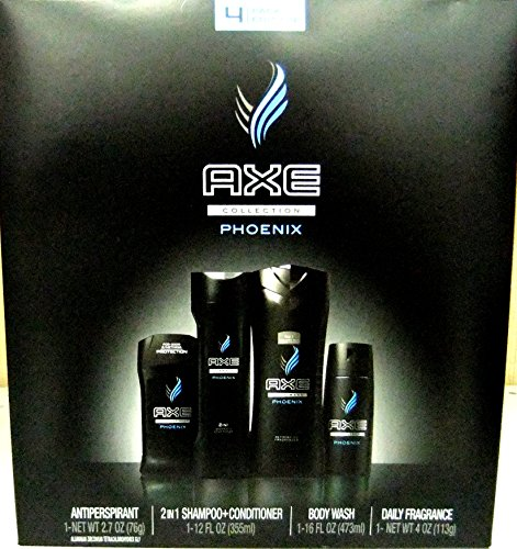 Price comparison product image Axe Phoenix Gift Box Size 4ct Axe Phoenix Gift Box 4ct