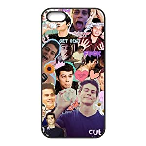 meilinF000Movie Star Dylan O'Brien TPU Protective Black White Back Cover For ipod touch 5meilinF000