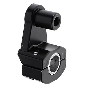 Homyl 1 Paar Lenker Motorrad-Roller-Spiegel Klemmhalter Bracket Spiegelhalter-Adapter-Klemme 8mm