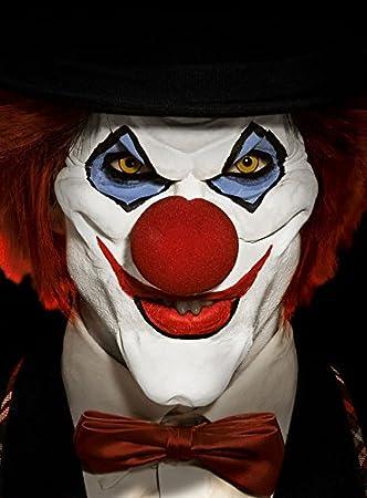 Horror Clown Deluxe Set Deluxe Make Up Halbmasken Set Halloween