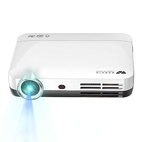 LHYP Mini Proyector De Vídeo, 3D Proyector DLP 1280X800 Apoyo ...