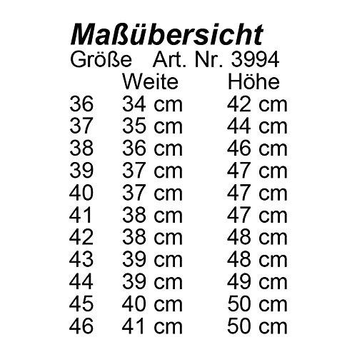 Stivali Valencia 37STD (L 35cm; H 44cm) Marrone