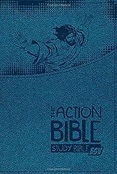 The Action Bible Study Bible ESV (Blue)
