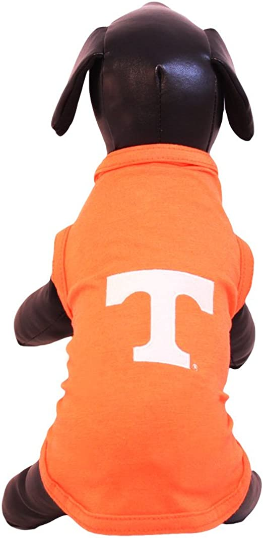 NCAA Tennessee Volunteers Cotton Lycra Dog Tank Top