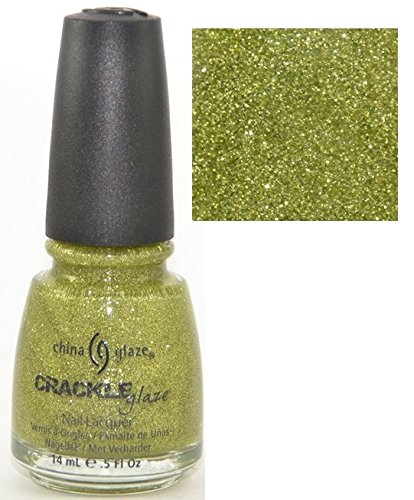 China Glaze Jade-d 80557 Crackle Glitter Nail Polish