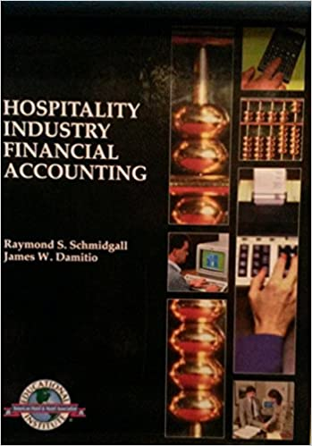 Book Hospitality Industry Financial Accounting