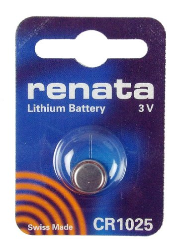 Renata- Lithium Battery 3v Cr1025 Swiss Made