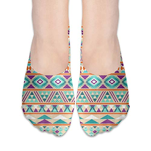 - No Show Socks Best Aztec Patterns Fabulous Womens Low Cut Sock Boat Invisible Socks for Girl