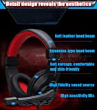 Lupus G1 Over-ear Gaming Headsets Earphones Headphones with Mic Stereo Bass for PC Games