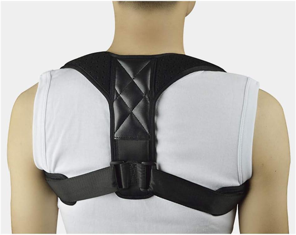 HAOHAODONGG Corrección de Postura: Extensor de la Parte Superior de la Espalda, Soporte de Soporte para el Hombro, Entrenador de ortesis para clavícula de Cuello y Hombro