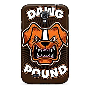 Samsung Galaxy S4 KER11629uUNr Customized Colorful Cleveland Browns Pattern Durable Hard Phone Cases -JasonPelletier