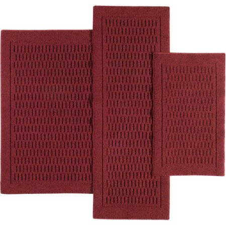 Mainstays Dylan Nylon Accent Rugs, Set of 3