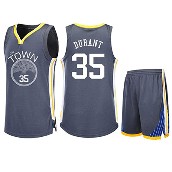 brand new 27451 75358 Kevin Durant Golden State Warriors 35 Men's Basketball ...