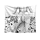 AKwell Fashion Tapestry Creative Pattern Fresh Style Decorative Tapestry Home Decor Living Room Bedroom Decoration Tapestry, Mattress, Tablecloth