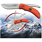 Outdoor Edge Swingblaze SZ-20N SwingBlade with Bright Orange Handle Never Lose Your Knife Again