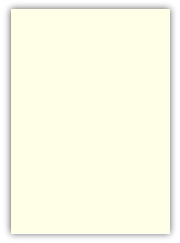 100 Blatt farbiges Premium Briefpapier Caribic DIN A5 Papier-Farbe Chamois