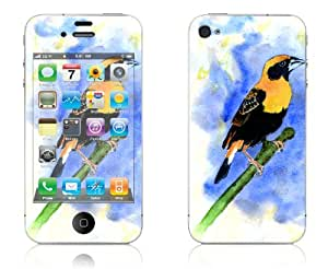 Orange Weaver - iPhone 4/4S Protective Skin Decal Sticker
