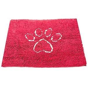 Dog Gone Smart Dirty Dog Doormat, Medium, Maroon
