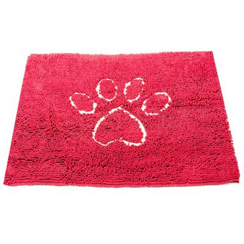 Dog Gone Smart Dirty Dog Doormat, Medium, Maroon
