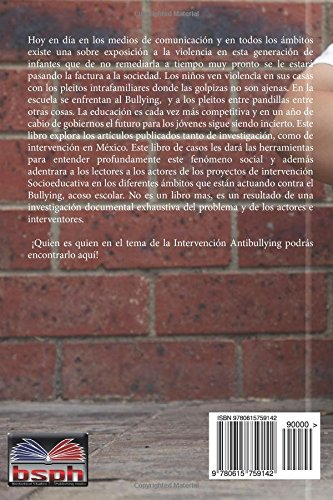 Casos de bullying en Ciudad Juarez (Spanish Edition ...