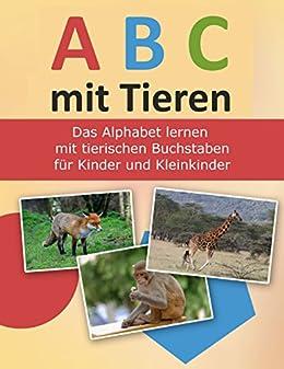 abc mit tieren das alphabet lernen mit tierischen buchstaben f r kinder und. Black Bedroom Furniture Sets. Home Design Ideas