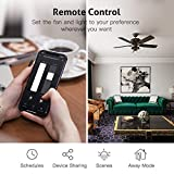 Smart Ceiling Fan Control and Dimmer Light
