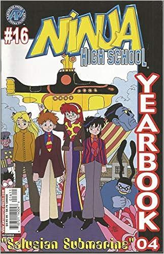 Ninja High School Yearbook Comic #16: Doug Dlin: Amazon.com ...