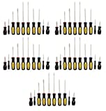 Stanley 60-100 10 Piece Standard Fluted Screwdriver Set (5 Pack)