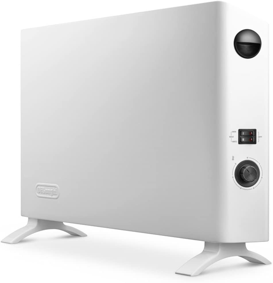 DeLonghi HSX 2320 Interior Color blanco 2000W Radiador/ventilador - Calefactor (Radiador/ventilador, Interior, Color blanco, 2000 W, 800 W, 60 m³)