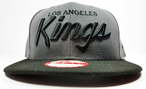 New Era NHL Los Angeles Kings Script Gray 2 Tone Snapback Cap 9Fifty NewEra – DiZiSports Store