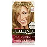 L'Oreal Paris Excellence Creme, 8 Medium Blonde, (Packaging May Vary)