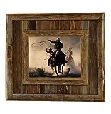 My Barnwood Frames – Durango Reclaimed Barnwood 8×10″ Picture Frame For Sale
