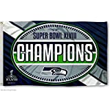 NFL 2014 Super Bowl XLVIII Champion 3x5-Feet Banner Flag