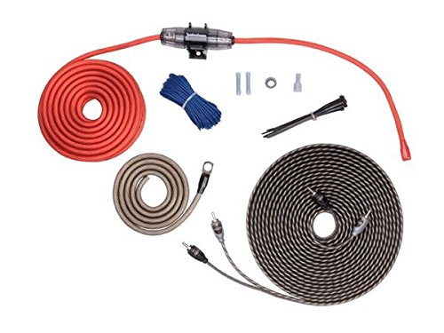 (Rockford Fosgate 8 AWG Amplifier Install Kit with Interconnect)