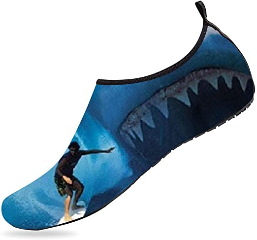 NUFURE Shark Surf Water Sports Shoes