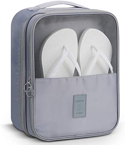 MoreTeam Shoe Storage Bag Holds 3 Pair of Shoes for Travel and Daily Use