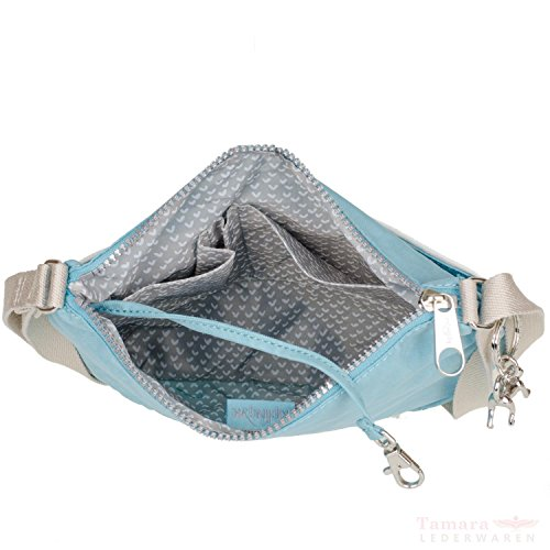 Kipling Croco Spring Zash CS bolso bandolera 26 cm Starlight Blue