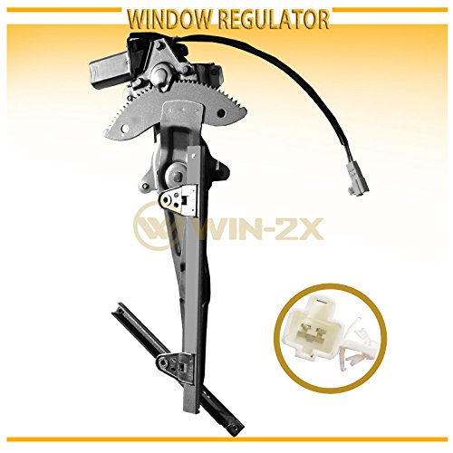 (WIN-2X New 1pc Rear Passenger (Right) Side Power Window Regulator & Motor Assembly Fit 97-01 Toyota Camry)