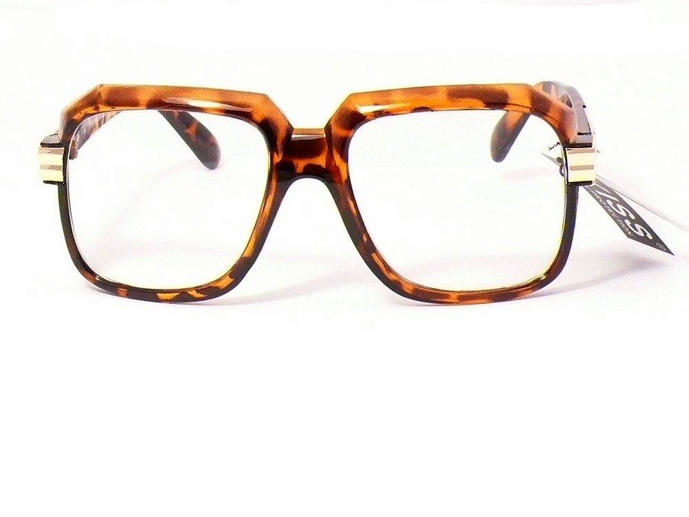 Gafas vasos transparentes cuadrados Mujer claras ks1193cl, marron écaille