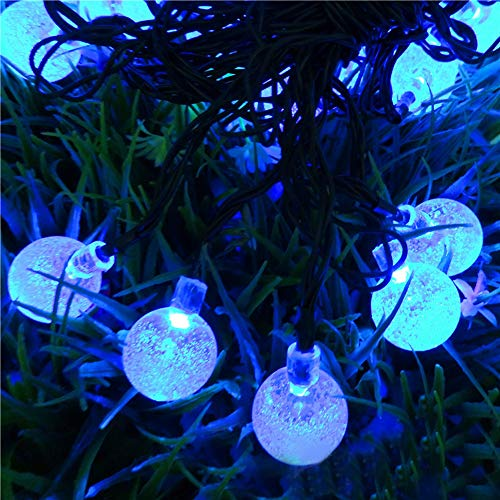 Solar Led Bubble Stick Lights Blue