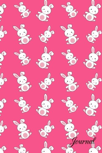 Bunny Journal (Journal: Pink bunny notebook)