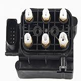 1x Valve Block Air Suspension Compressor for Mercedes Benz W164//W251/W212/A2123200358 Air Supply Solenoid