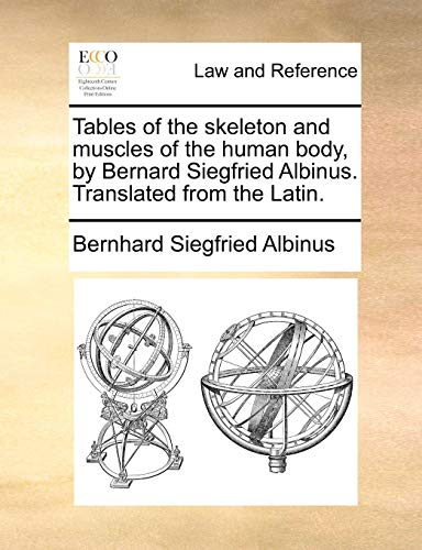 Human Muscles Skeleton (Tables of the skeleton and muscles of the human body, by Bernard Siegfried Albinus. Translated from the Latin.)