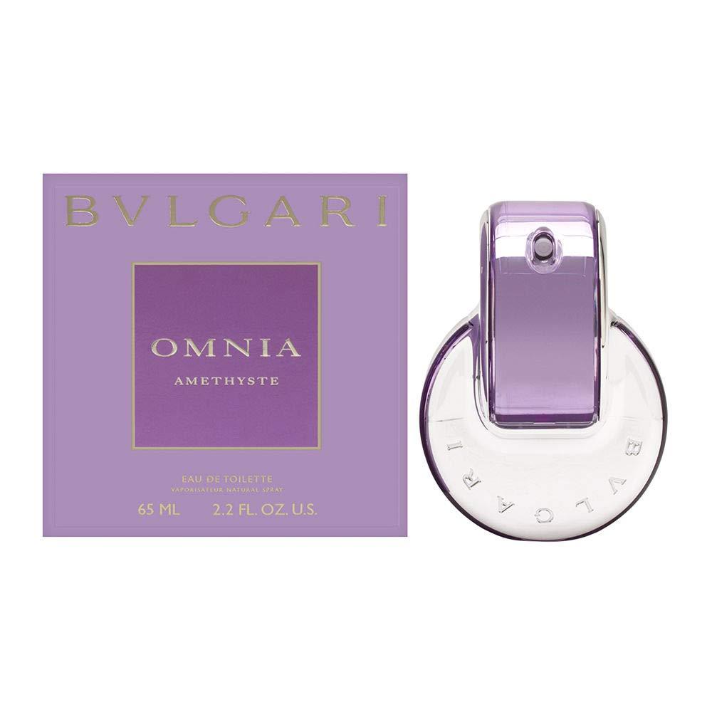 Bvlgari Omnia Amethyste for Women   Eau de Toilette   Created in 2006 by Alberto Morillas   Floral and Woody Scent   65 mL / 2.2 Fl Oz