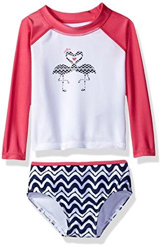 Nautica Girls Fashion Rashguard Protection