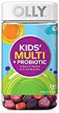Olly Kid's Multi + Probiotic A Blend of Vitamins, 140 Gummies