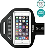Armband Vinious® Premium Water & Sweat Resistant Sport Exercise Armband for iPhone SE, 6, 6S, 5, 5S, 5C, iPod Touch (Grey)